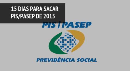 Trabalhadores têm 15 dias para sacar PIS/Pasep de 2015