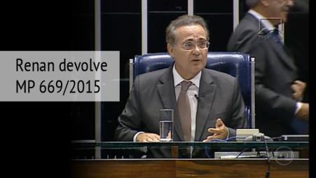 MP que reduz desoneração da folha de pagamento é devolvida