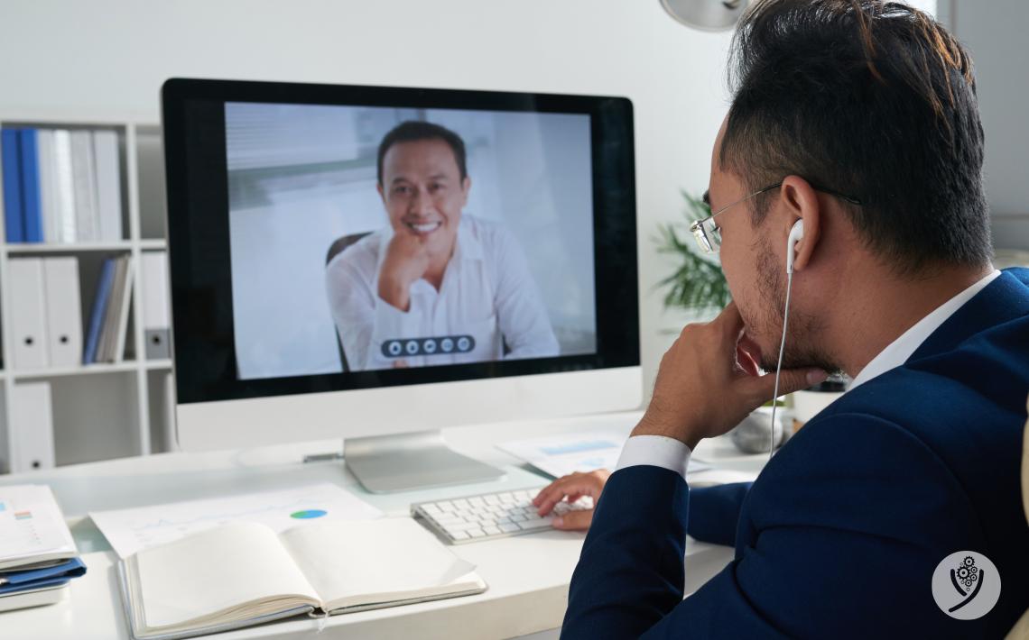 Videochamadas para fazer reuniões