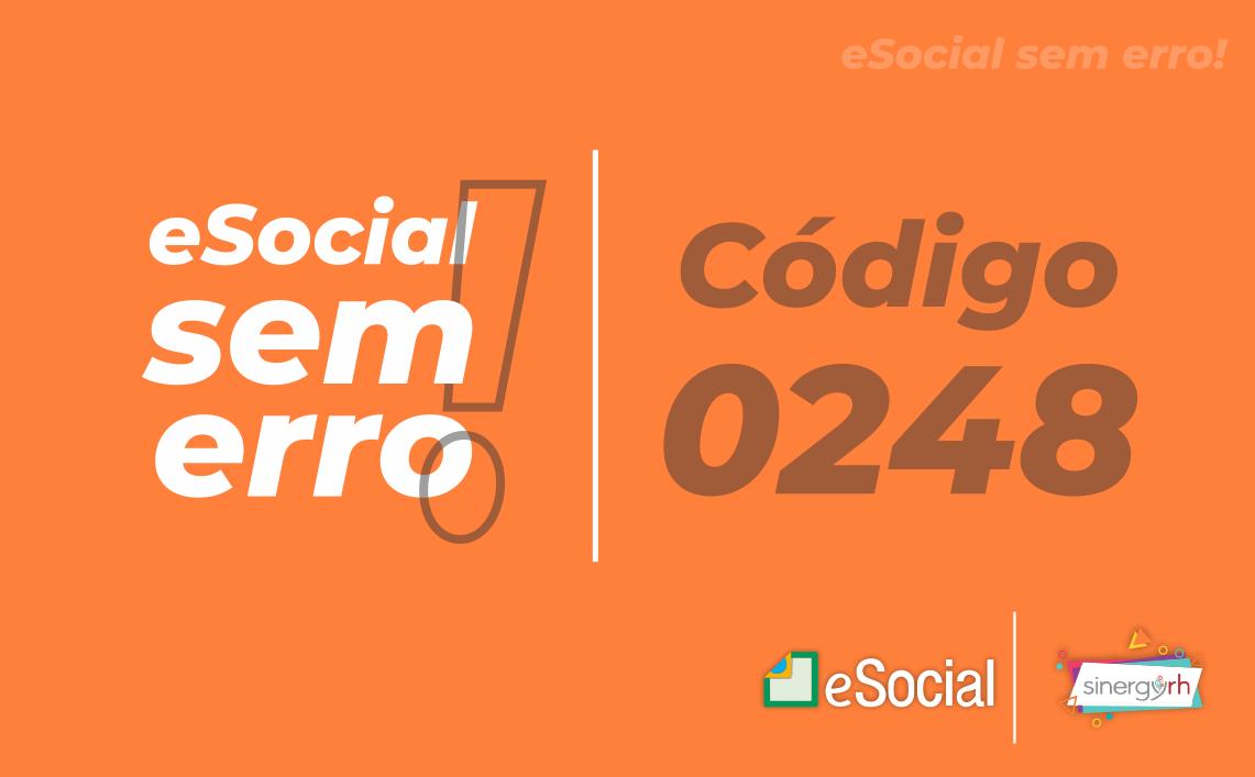 Código 0248 - CID inválido.