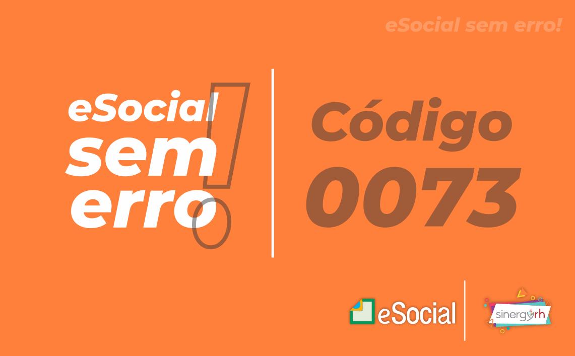 Código 0073 - Não foi possível estabelecer conexão com o Sistema do SPED Tabelas...
