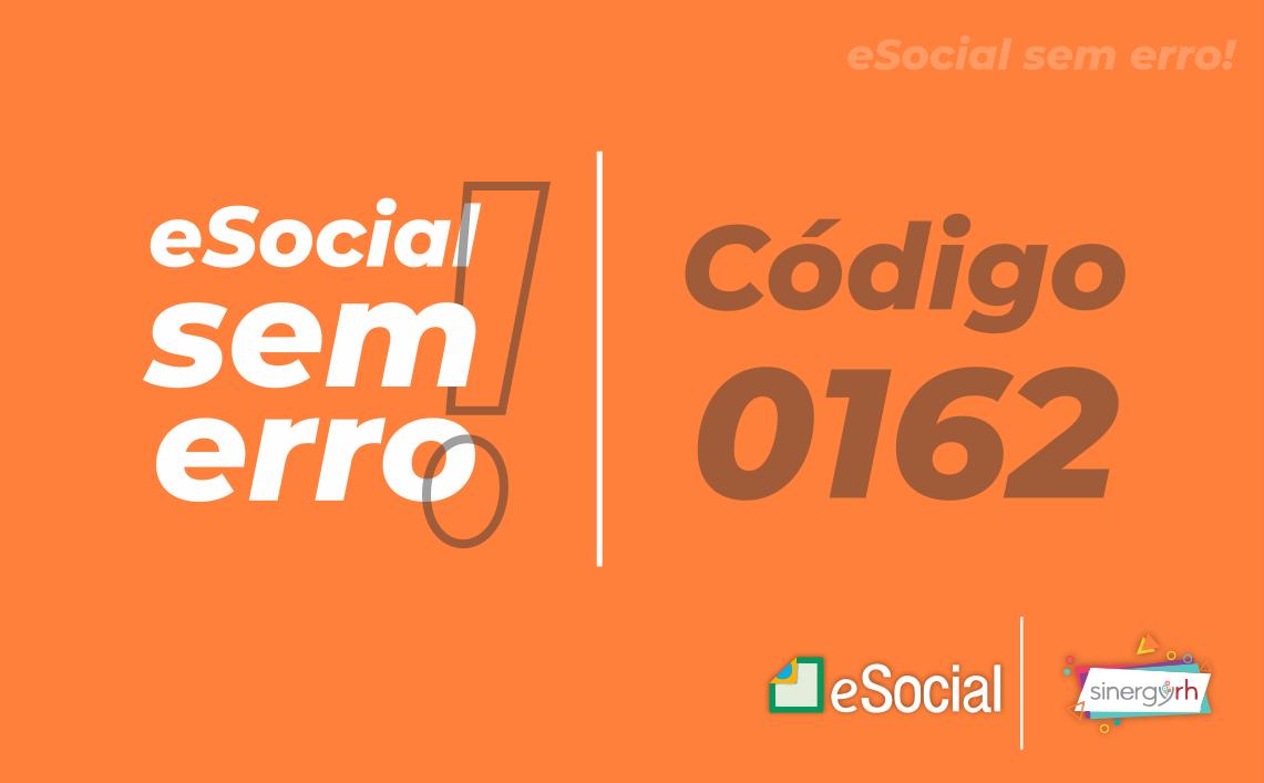Código 0162 - O Trabalhador com Matrícula: {0} consta na base de dados do Ambiente Nacional...